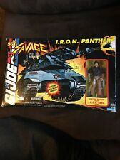 GI JOE SGT. SAVAGE I.R.O.N. PANTHER 1994