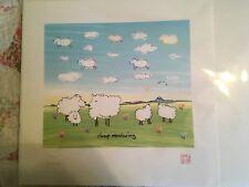 """John Lennon Art """"Sheep Meadowing"""""""