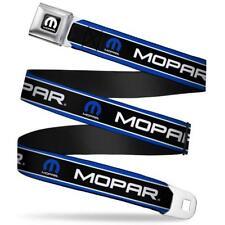 MOPAR Gürtel USA Seatbelt Style Edelstahl Sicherheitsgurt Logo Chrysler Dodge RT