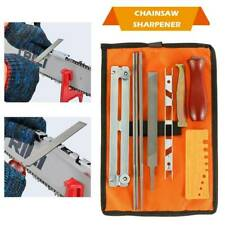 10x Chainsaw Sharpening parts File Stihl Filing Kit Chain Sharpen Saw Files Tool