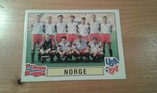 N°353 TEAM EQUIPE ELFTAL # NORGE PANINI USA 94 WORLD CUP ORIGINAL 1994