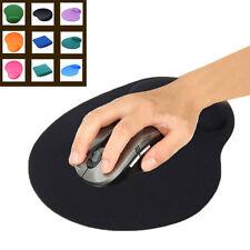 Black Economic Thin Wrist Support Cloth + EVA Mouse Pad Mice Mat For Computer PC