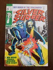 Silver Surfer #5  (1969) Stranger Appearance. Nice copy.