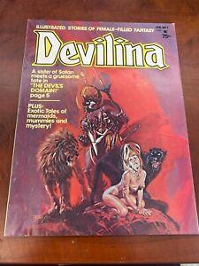 DEVILINA  VOL. 1  NO. 1  JAN. 1975  SEABOARD PERIODICALS