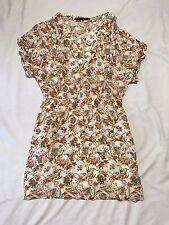 Zara Basic Summer Dress Ladies USA Large Floral