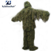 New Forest 3D Bionic Design Camouflage Ghillie Suit Grass Type Hunting Clothing