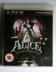 Playstation 3 Alice Madness Returns