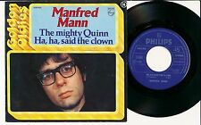 "MANFRED MANN 45 TOURS 7"" BELGIUM THE MIGHTY QUINN"