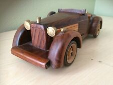Collectible Vintage Wooden Classic old Model Toy car 12