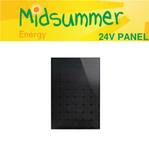 Perlight Delta 295W Black 12V/24V Mono Solar Panel - Compact - 1504 x 1002 mm