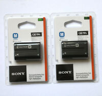 Two NP-FM500H battery For Sony A57 A65 A77 A99 A350 A550 A580 A900 A300 A900 A70