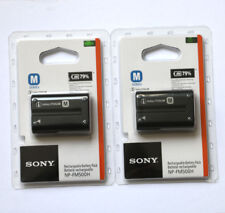 Two NP-FM500H battery For Sony A57 A65 A77 A99 A350 A550 A580 A900 A300 A900 A70