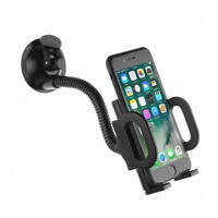 Universal 360° in Car Holder Windscreen Holder Mount For GPS Mobile Phone Black