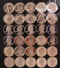 1968-1998 S Washington Quarter Gem Cameo Proof Run 30 Coin Set US Mint Lot