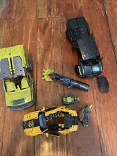 Transformers lot For parts  Bumblebee Ironhide Ratchet