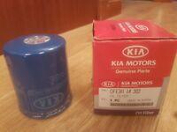 KIA SPORTAGE OIL FILTER PETROL GENUINE KIA 0FE3R14302 1997-2000 2000cc
