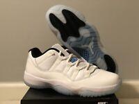 Nike Air Jordan 11 Retro Low Legend Blue Men's Size 9 & 9.5 (AV2187-117)