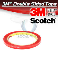 Genuine 3M VHB #4905 Clear Double-Sided Tape Mounting Automotive 6mm x 10FT