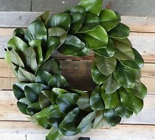 "MAGNOLIA 22"" Leaf WREATH Farmhouse Fixer Upper Door Home Decor"