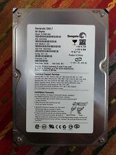 Seagate Barracuda 7200.7 80GB Hard Drive ST380817AS 9W2812-351 100275523 3.18