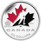 2014 $20 Fine Silver Coin - 100th Anniversary of Hockey Canada