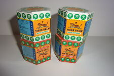 TIGER BALM  9 ML PACK OF 4 -  2 RED & 2 WHITE FOR A GREAT PRICE