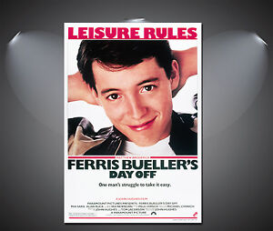 Ferris Bueller's Day Off Vintage Movie Poster - A1, A2, A3, A4 available