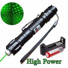 3in1 5mw 532nm Green Laser Pointer Pen Lazer Beam Light + 18650 Battery +Charger