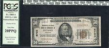 1929 $50 GUARDIAN NB OF COMMERCE OF DETROIT, MI CH. #8703 PCGS VF-20PPQ