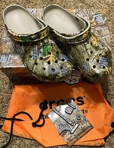Crocs x thisisneverthat Real Tree Classic Clog With Exclusive Jibbitz Charms 12M