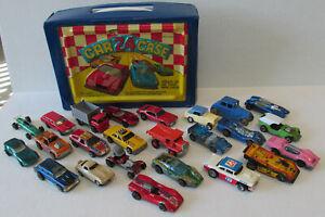 Hot Wheels Redline Lesney Slot car Collection Case of 24 Old Cars