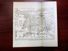 1915 China Country between Old Bed of the Yellow River Partie Basse Du Hia--Ho