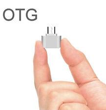 OTG3-SilberOTG USB Adapter Micro-USB Typ B USB  J5 A3 A5 S4 S5 S6 S7  Huawei