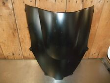 Kawasaki ZX9R E1 2000 E2 1999 to 2002 Screen Double Bubble Matt Black #145
