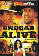 Undead or Alive (DVD) Zombies HORROR! We Combine Shipping in the U.S.!