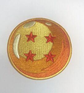dragon ball z iron on patch