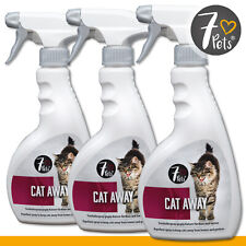 Schopf 7 Pets 3 x 500 ml Cat Away | Fernhaltespray gegen Katzen