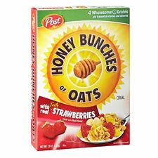 Honey Bunches of Oats with Real Strawberries, 13-Ounce Boxes (Pack of 2)