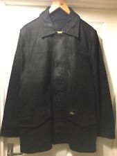 Debenhams mens leather jacket size L 42' chest