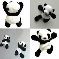 Lovely Plush Panda Fridge Magnet Refrigerator Sticker Toy Gift cotton PP R1H6