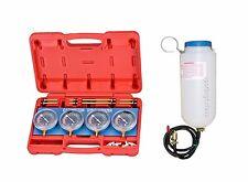 AlphaMoto Kit Carb Sync Gauge Vacuum & Auxiliary Gas Fuel Tank Yamaha GSXR YZF