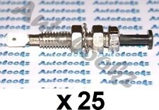 25 x 12V METAL PIN SWITCH 8MM HOLE car alarm light bonnet interior caravan hood