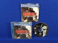 Sega Dreamcast RESIDENT EVIL 3 Nemesis Game Boxed & Complete Capcom PAL UK
