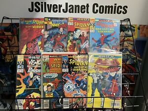 MARVEL WHAT IF SPIDER-MAN LOT PUNISHER VENOM COSMIC SIX ARMS #7 SPIDER-GIRL