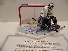J.S. Giguere Autographed Anaheim Mighty Ducks McFarlane COA Nice Autograph