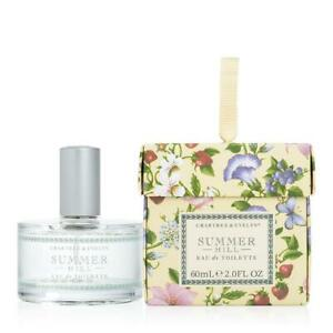Crabtree and Evelyn Summer Hill Eau de Toilette 2.0 oz.
