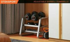 OTEKSPORT Adjustable Dumbbell Barbell Weight Set Household Fitness Equipment Tra