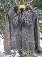 Winterjacke mit Fell Gr.38 Braun
