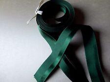 RUBAN GALON vert FONCE 1000 raies satin1 mx2CM☺RUBBON