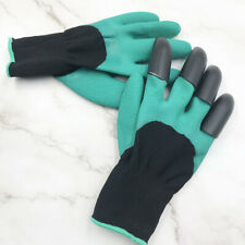 Protection insulation rubber garden gloves for digging the soil